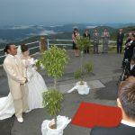 天狗高原での結婚式
